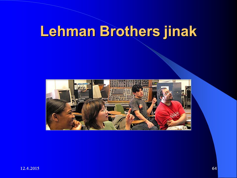 Lehman Brothers jinak 11.4.2017