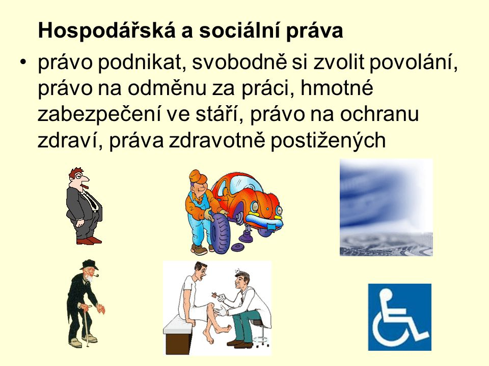 Hospodářská a sociální práva