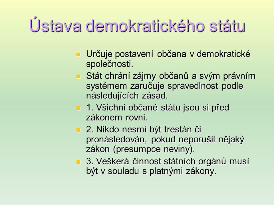 Ústava demokratického státu