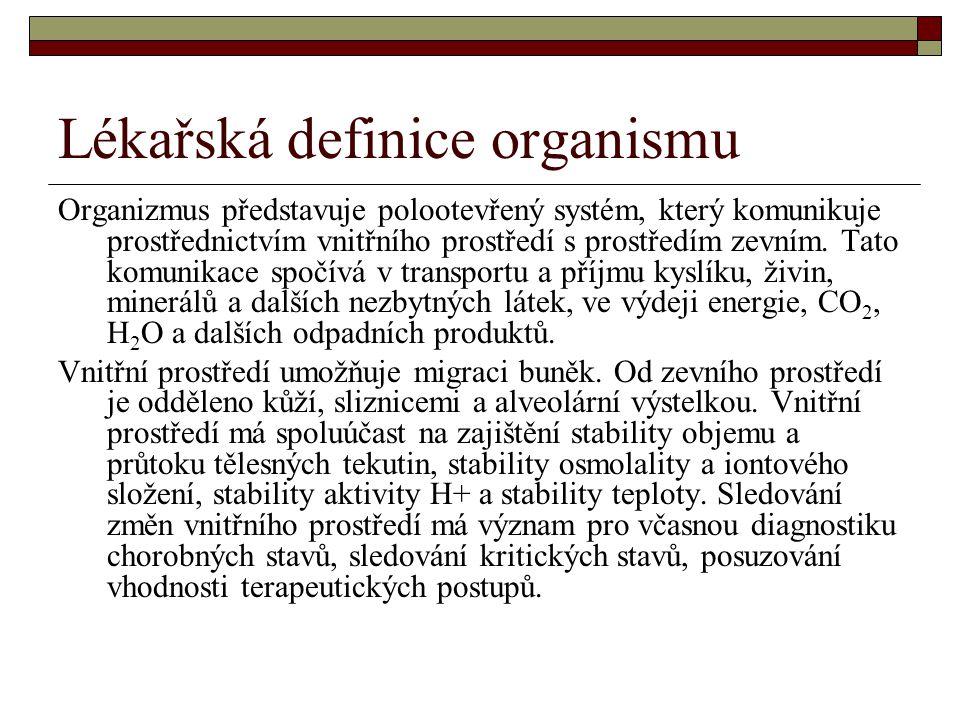 Lékařská definice organismu
