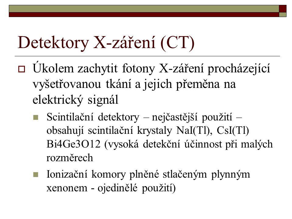 Detektory X-záření (CT)