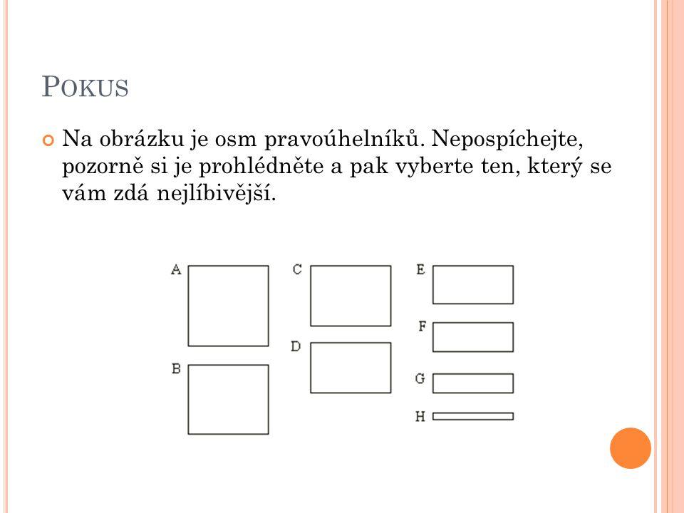 Pokus Na obrázku je osm pravoúhelníků.