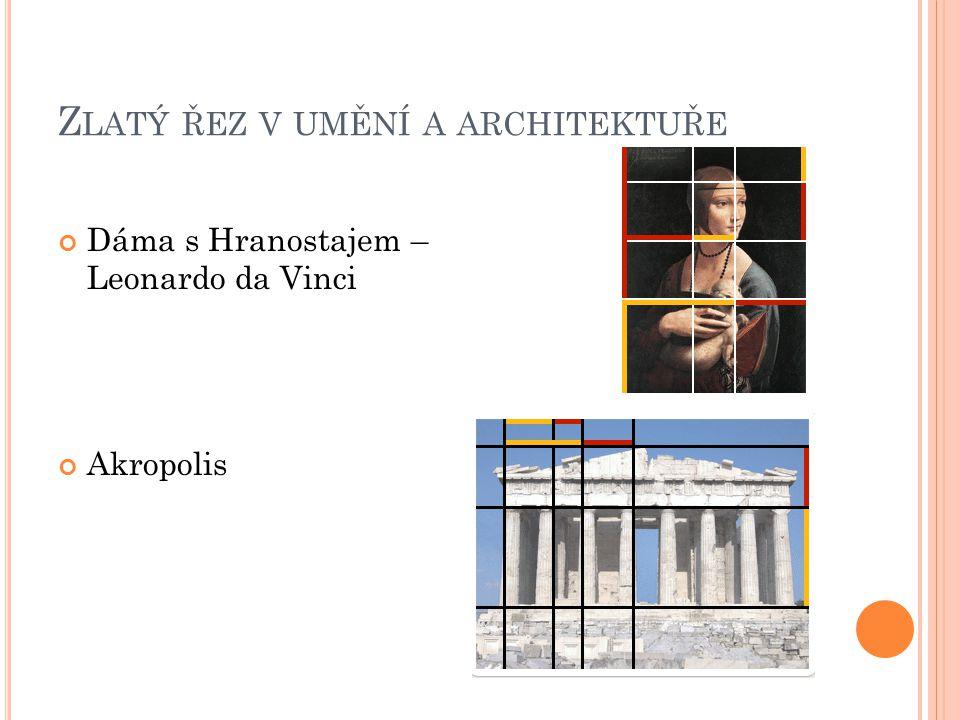 Zlatý řez v umění a architektuře