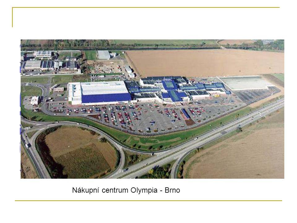 Nákupní centrum Olympia - Brno