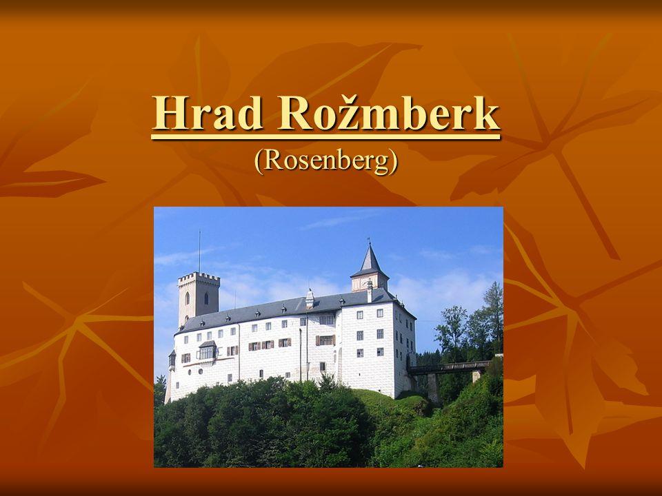 Hrad Rožmberk (Rosenberg)