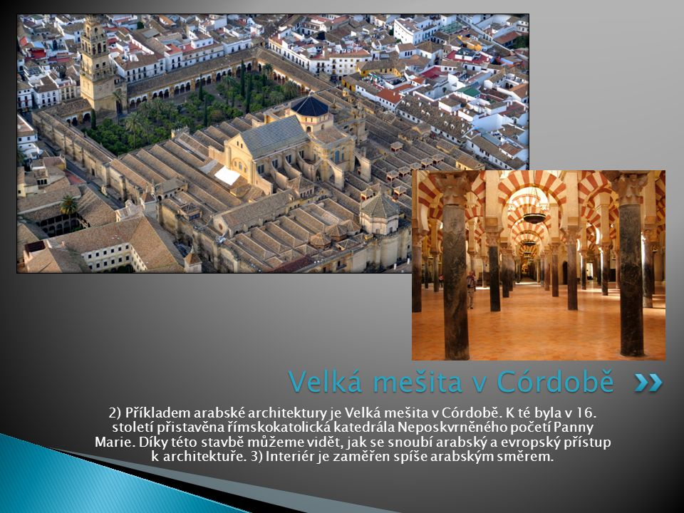 Velká mešita v Córdobě