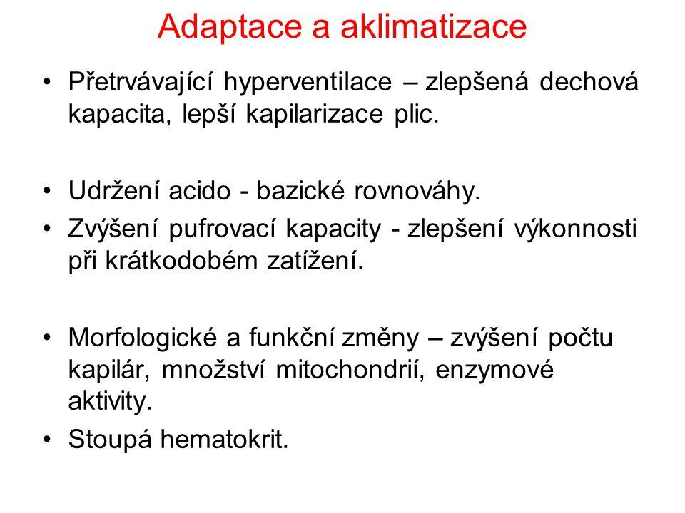 Adaptace a aklimatizace