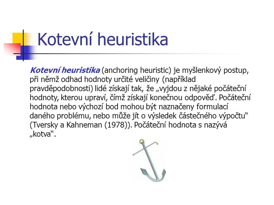 Kotevní heuristika