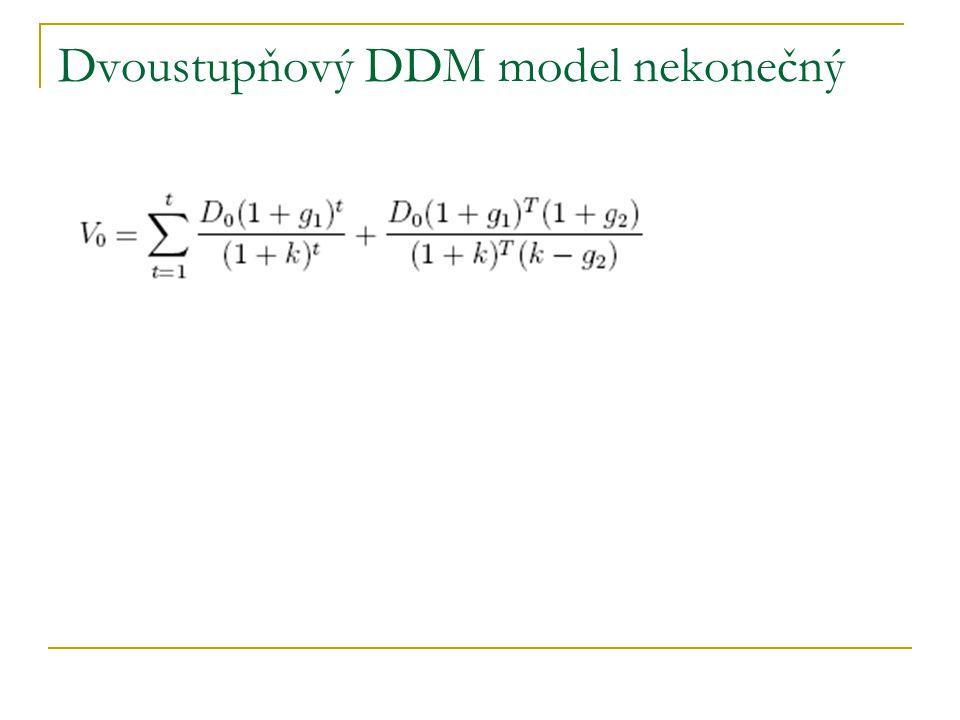 Dvoustupňový DDM model nekonečný