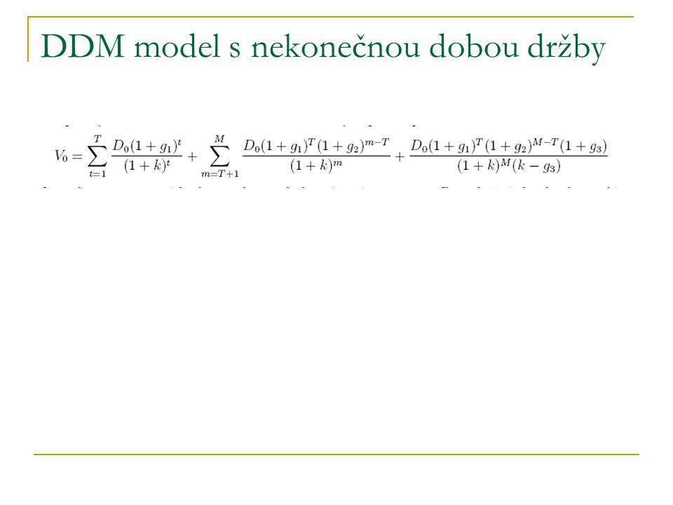 DDM model s nekonečnou dobou držby