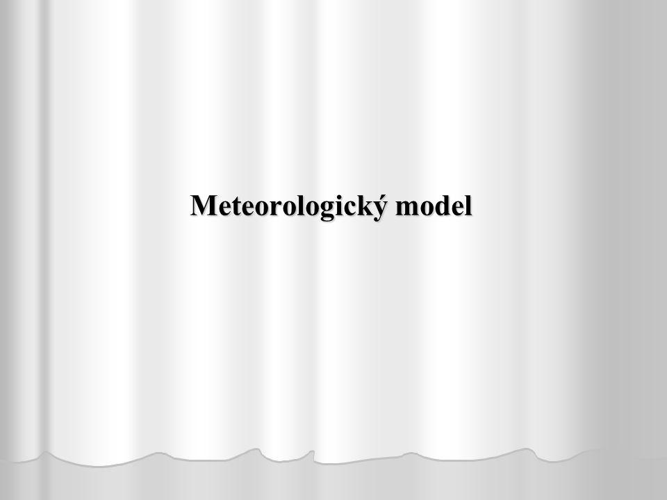 Meteorologický model This slide presents the methodology followed for floodplain mapping.