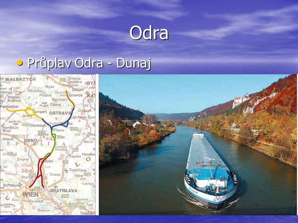 Odra Průplav Odra - Dunaj