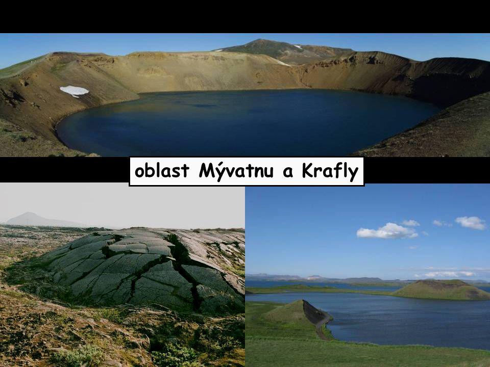 oblast Mývatnu a Krafly