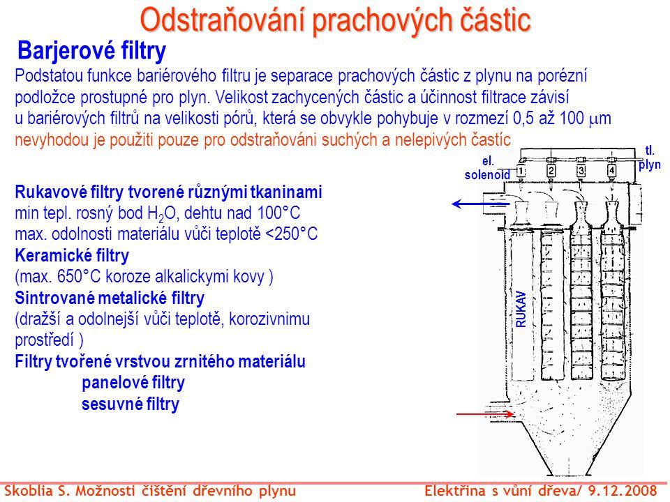 Odstraňování prachových částic