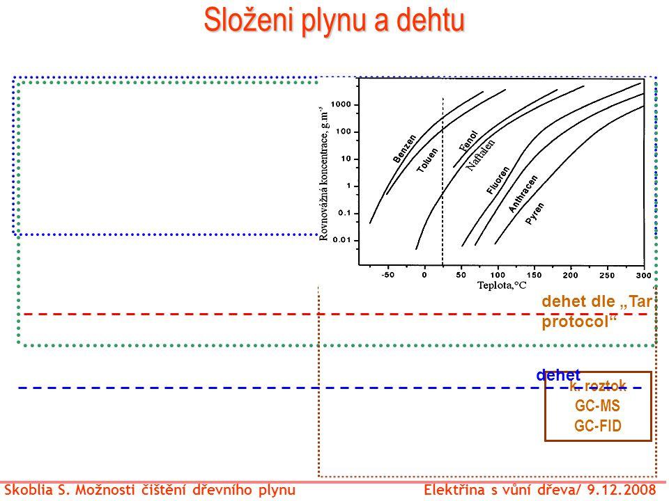 Složeni plynu a dehtu GC-TCD/ analyzátory GC-TCD/FID (2-3 kanaly)