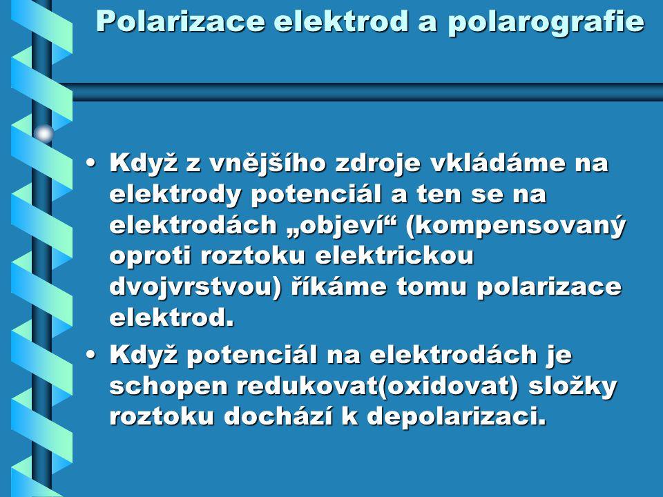 Polarizace elektrod a polarografie