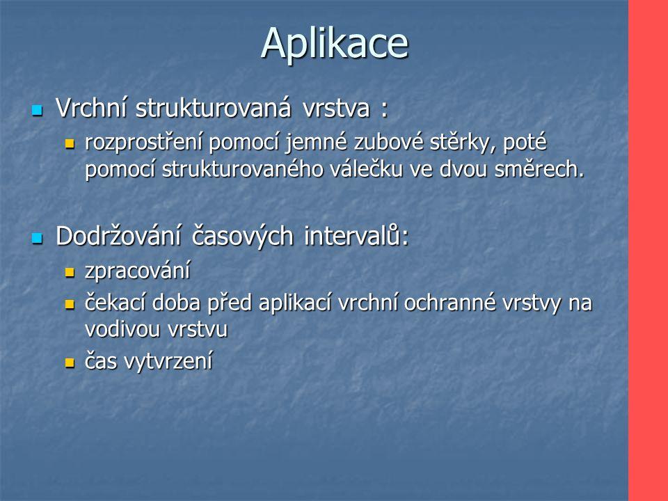 Aplikace Vrchní strukturovaná vrstva : Dodržování časových intervalů:
