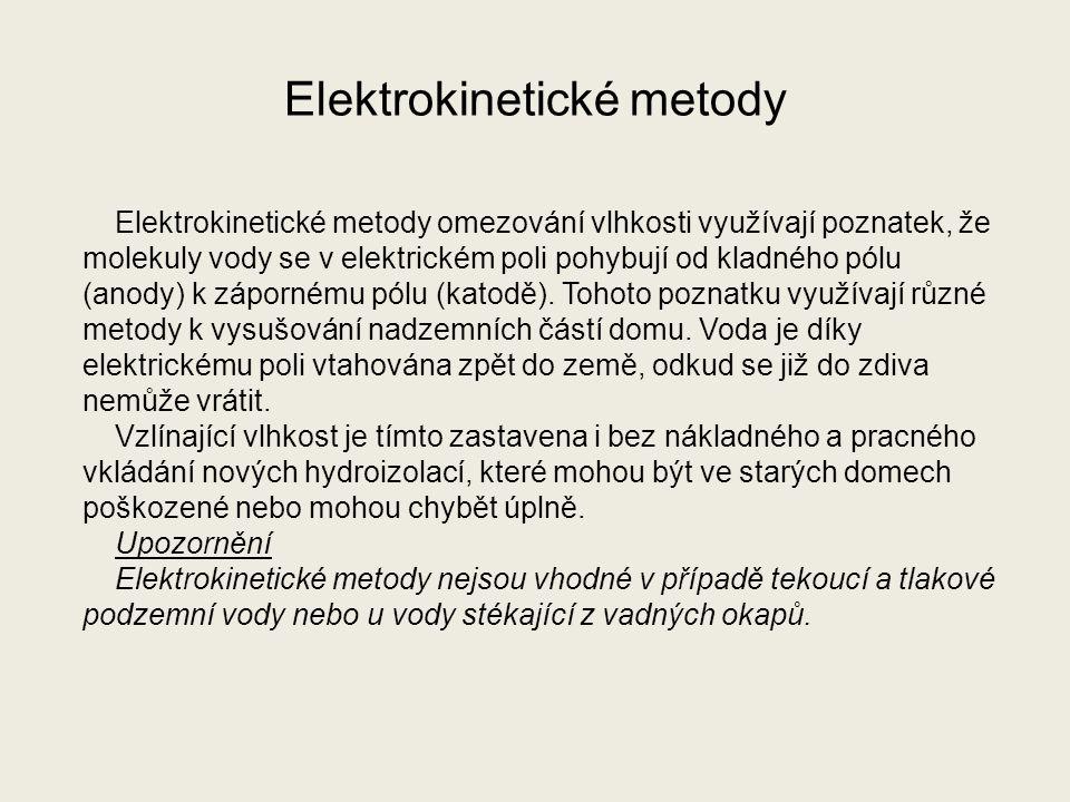 Elektrokinetické metody