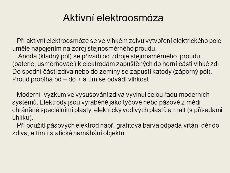 Aktivní elektroosmóza