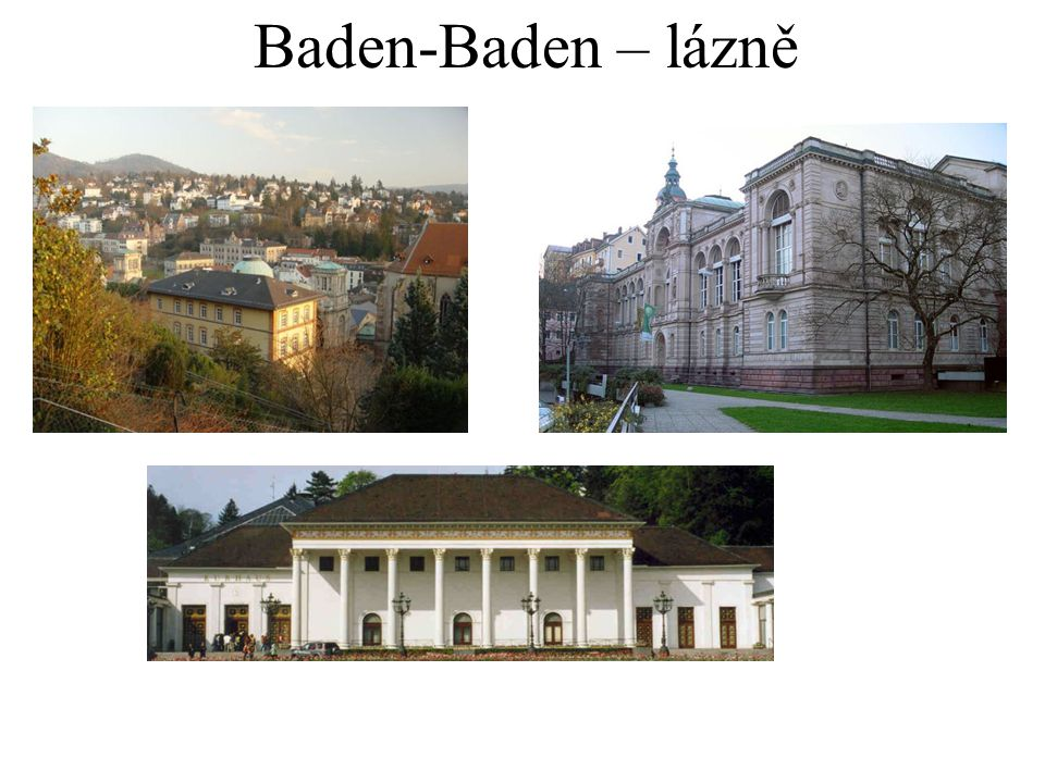 Baden-Baden – lázně