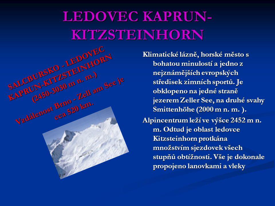 LEDOVEC KAPRUN-KITZSTEINHORN
