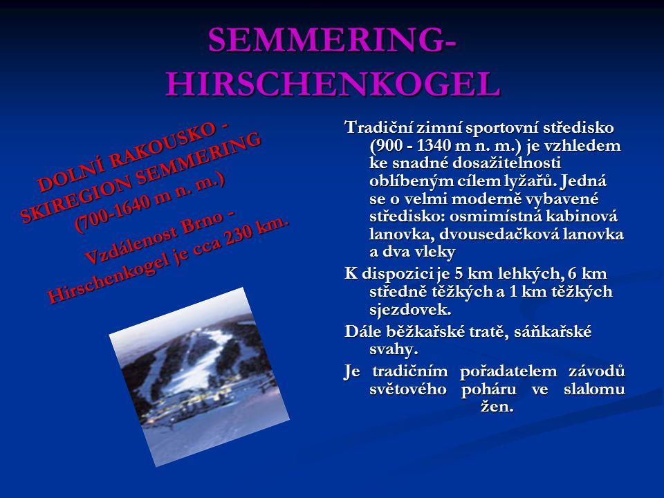 SEMMERING-HIRSCHENKOGEL