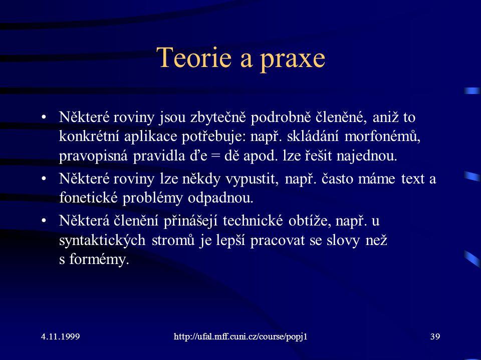 Teorie a praxe