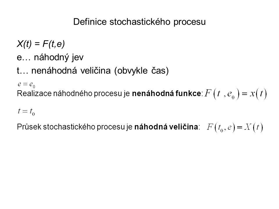 Definice stochastického procesu