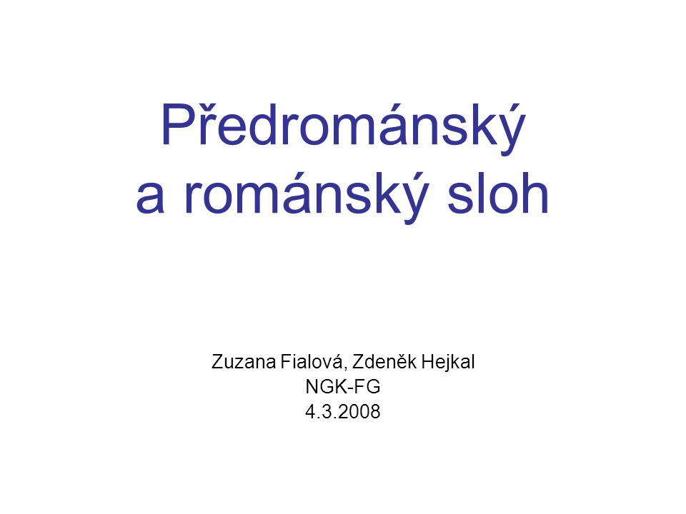 Předrománský a románský sloh