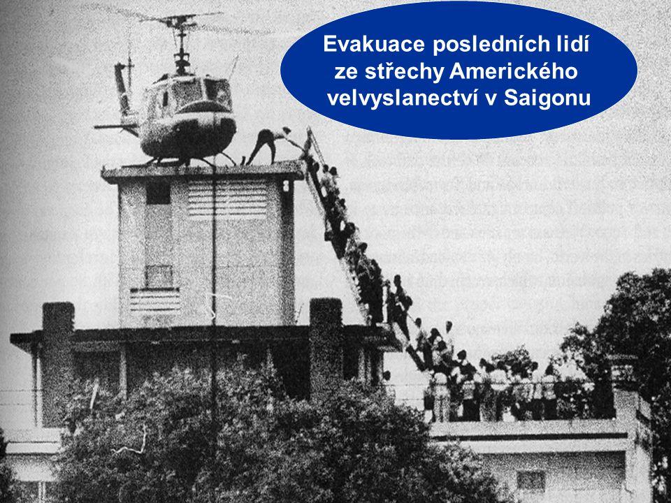 """VÁLKA VE VIETNAMU MÍR 1969 – 1973 – """"VIETNAMIZACE války"""
