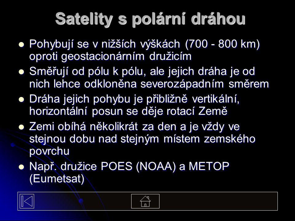 Satelity s polární dráhou