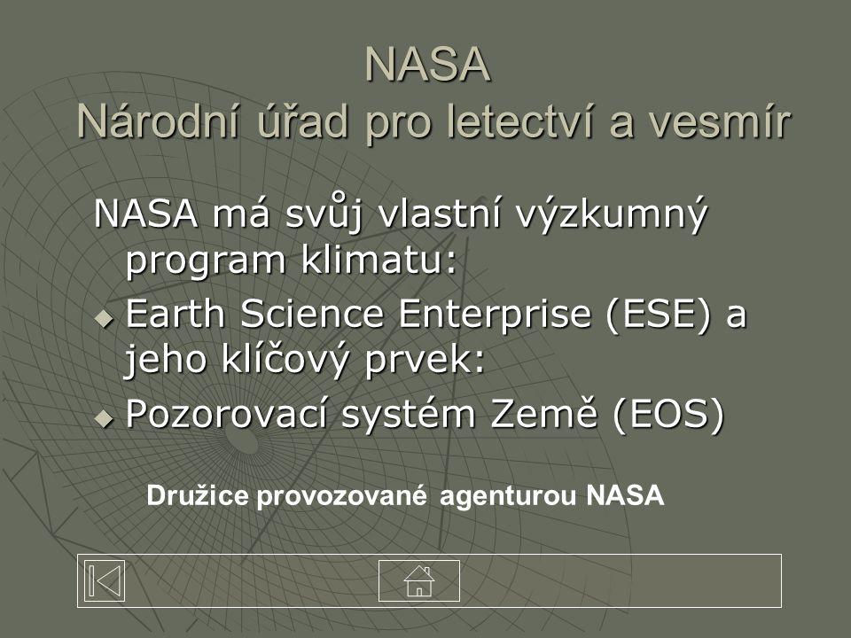 NASA Národní úřad pro letectví a vesmír