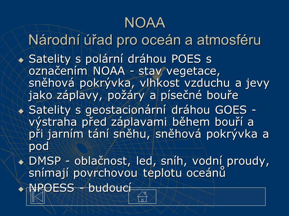 NOAA Národní úřad pro oceán a atmosféru