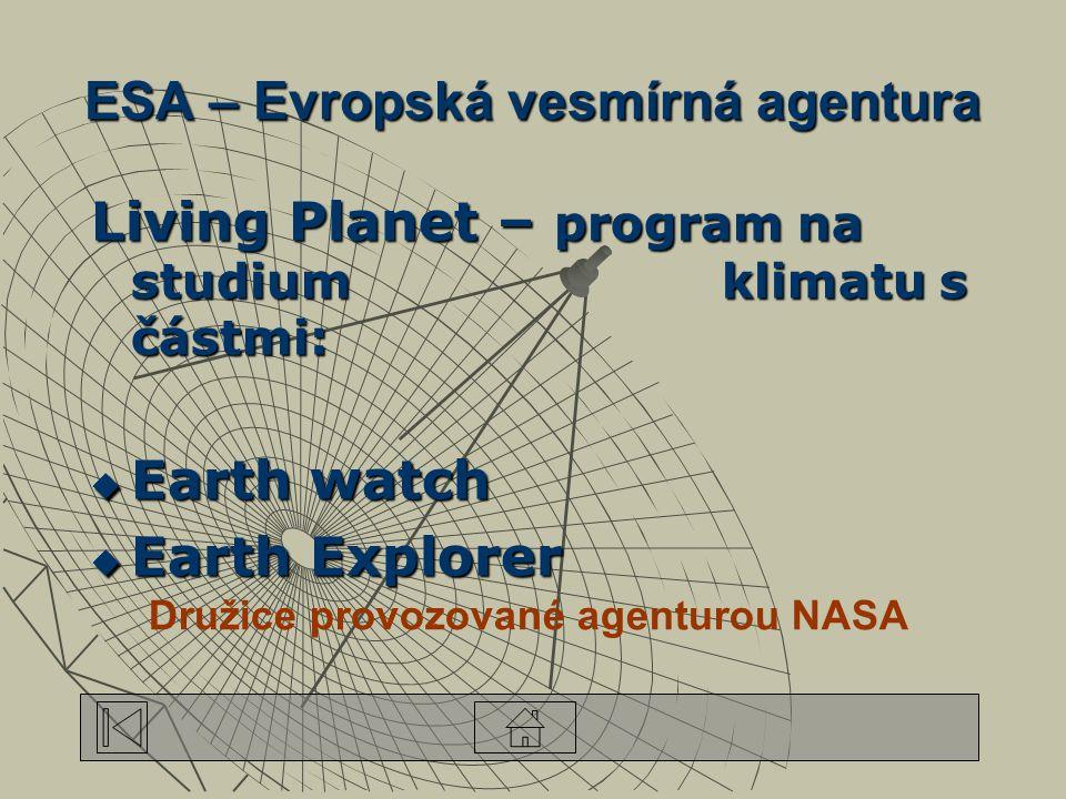 ESA – Evropská vesmírná agentura