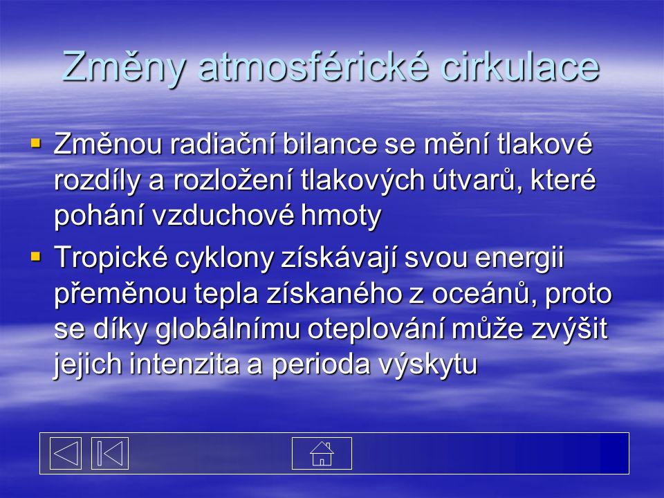 Změny atmosférické cirkulace