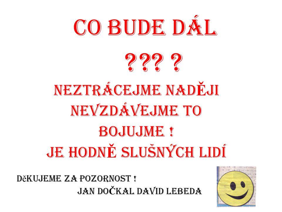 Jan DoČkal David Lebeda