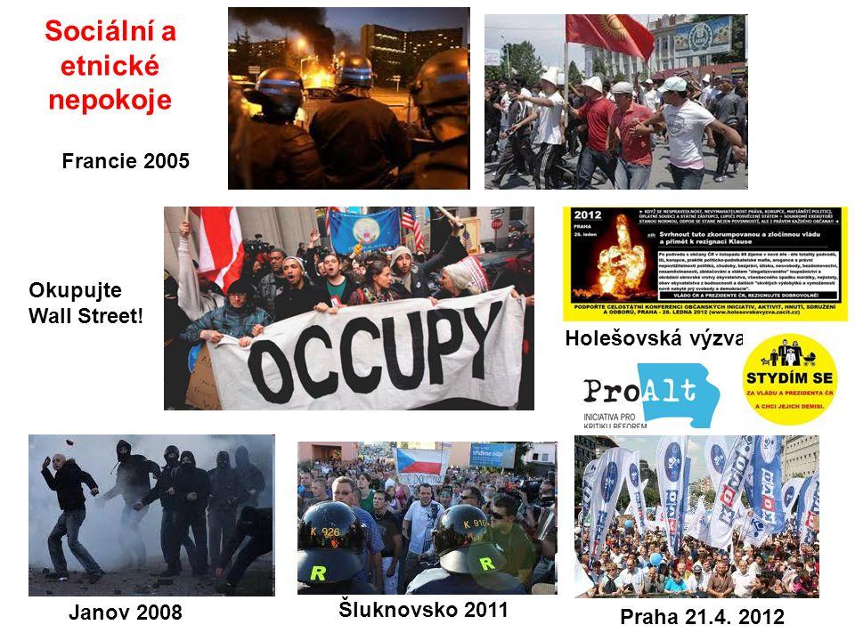 Sociální a etnické nepokoje