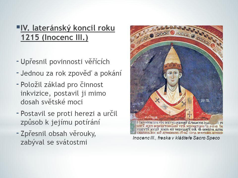 IV. lateránský koncil roku 1215 (Inocenc III.)