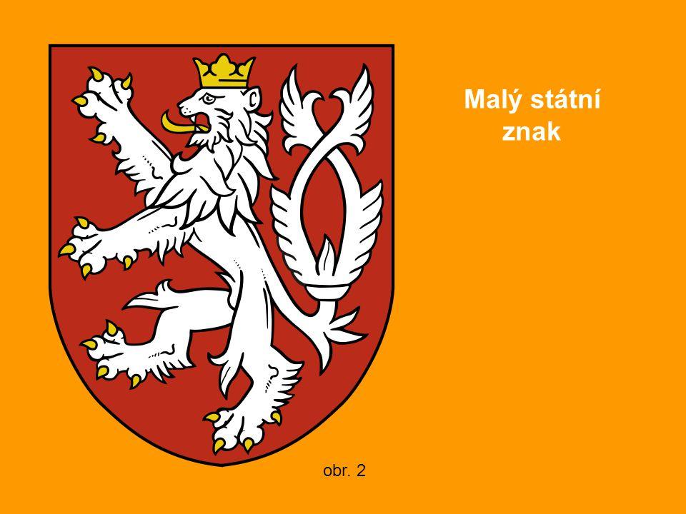 Malý státní znak obr. 2