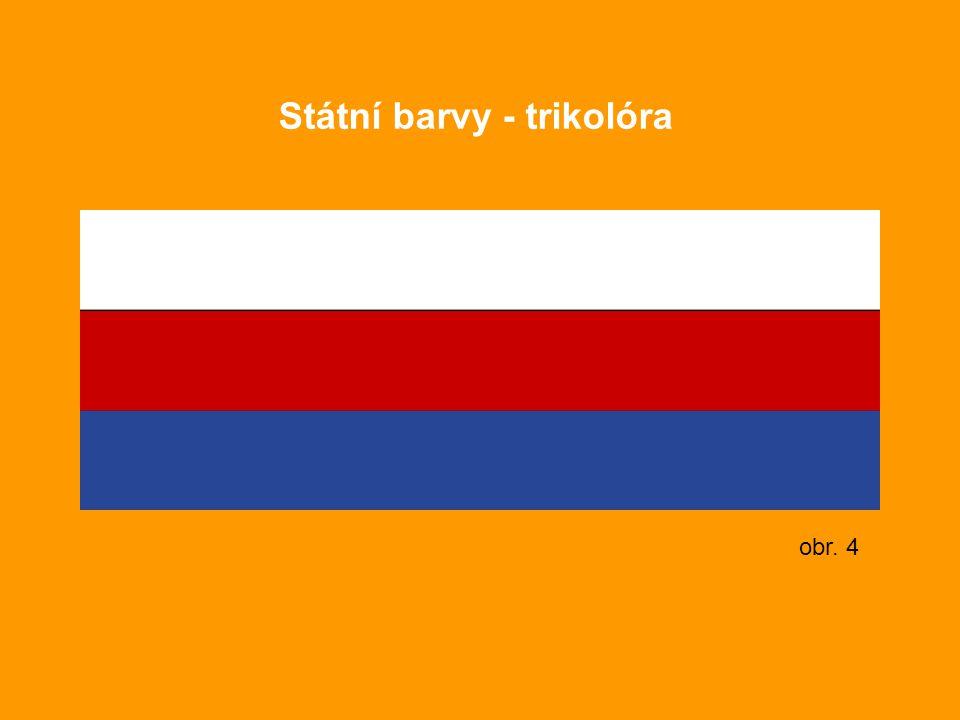 Státní barvy - trikolóra