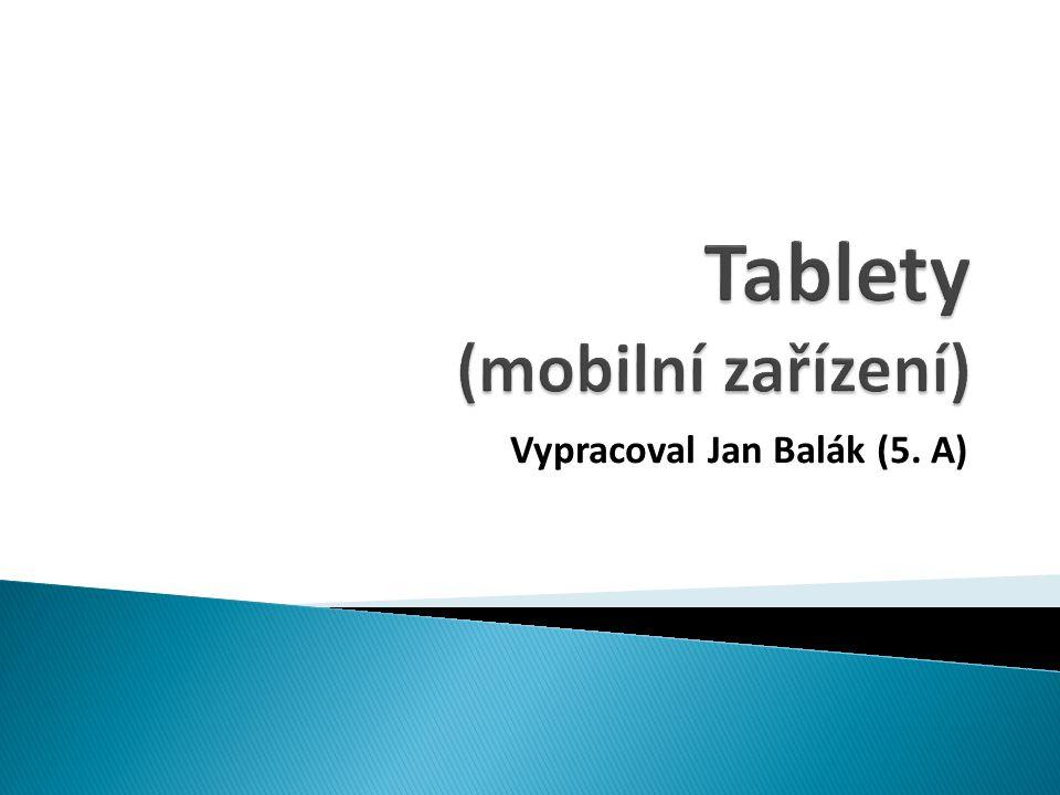 Tablety (mobilní zařízení)