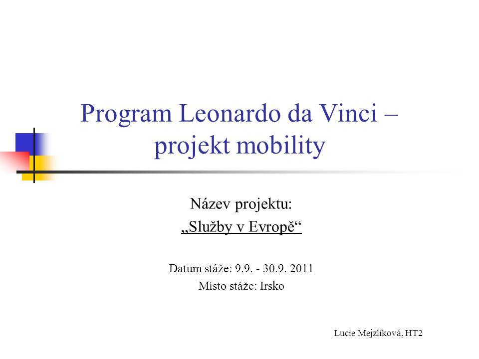 Program Leonardo da Vinci – projekt mobility
