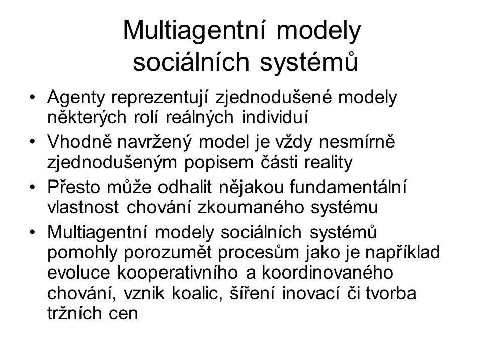 Multiagentní modely sociálních systémů