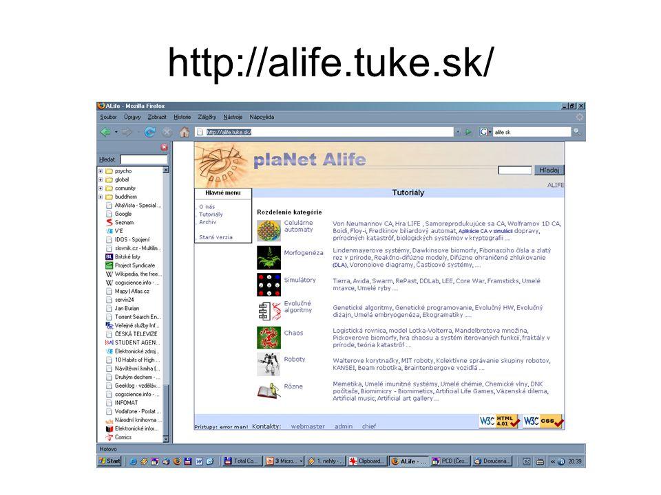 http://alife.tuke.sk/
