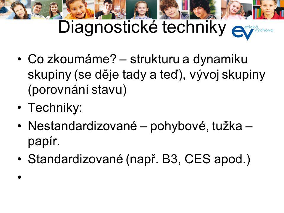 Diagnostické techniky