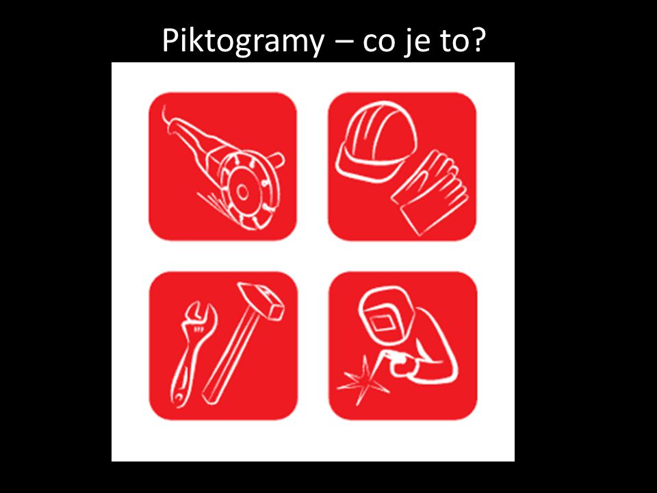 Piktogramy – co je to