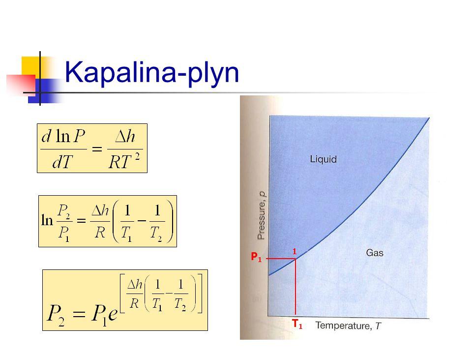 Kapalina-plyn 1 P1 T1