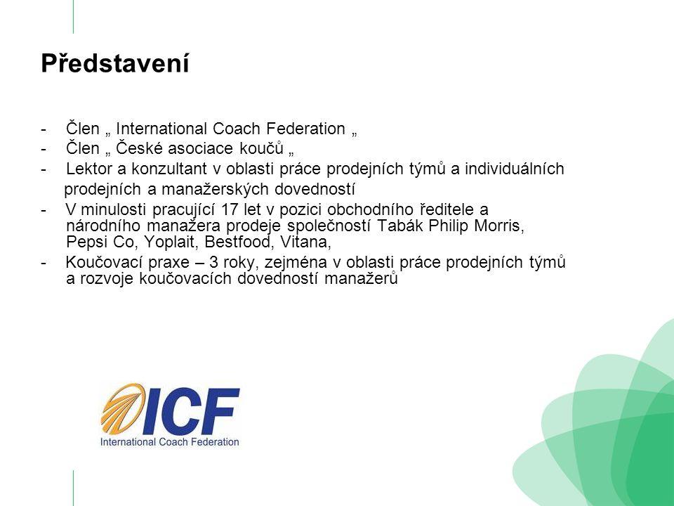 """Představení Člen """" International Coach Federation """""""
