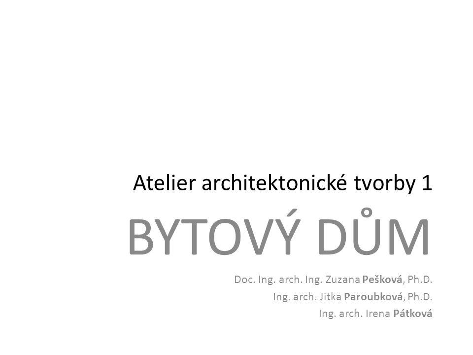 Atelier architektonické tvorby 1