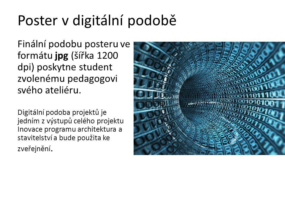 Poster v digitální podobě